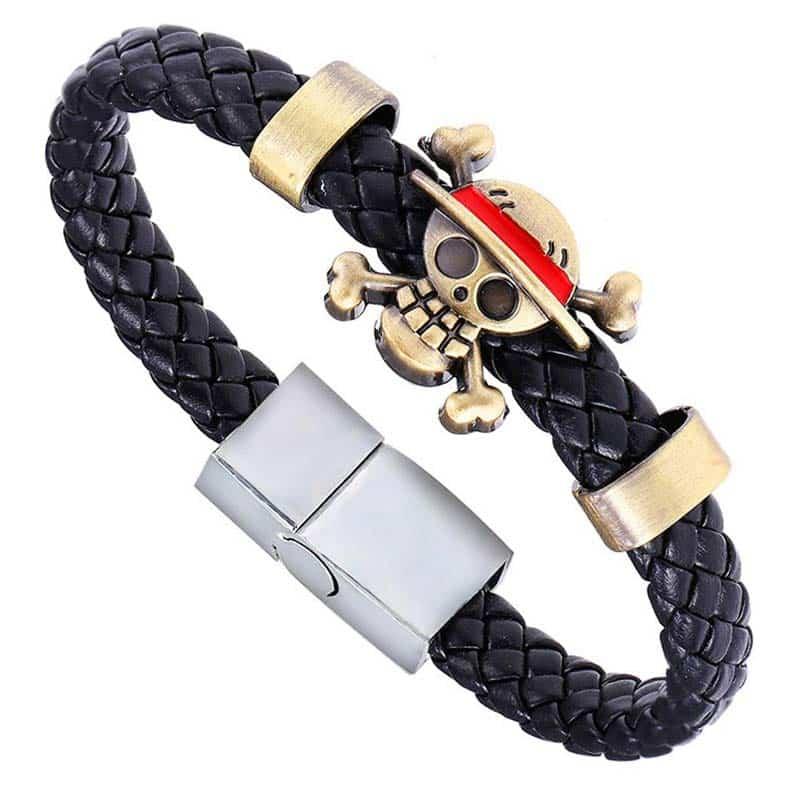 Bracelet Luffy One Piece - Bracelet Pirate - Jolly Roger