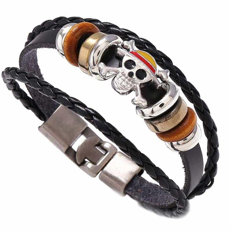 Bracelet One Piece - Bracelet Pirate - Jolly Roger