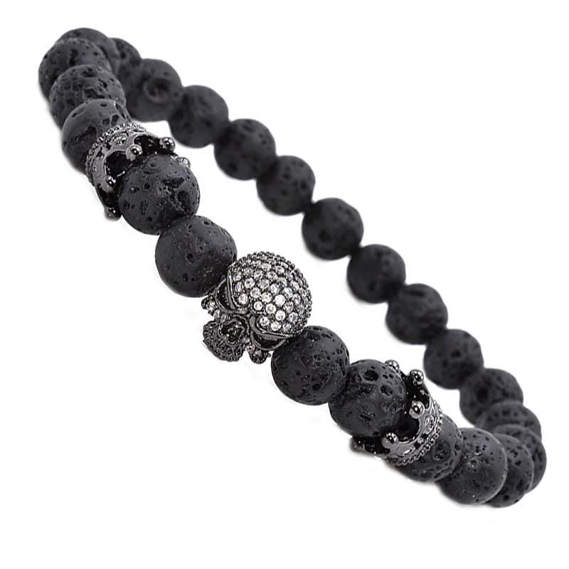 Bracelet Perle Pirate - Bracelet Pirate - Jolly Roger