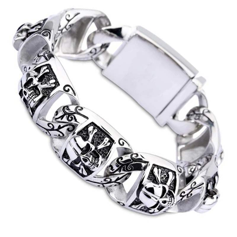 Bracelet Pirate Patron - Bracelet Pirate - Jolly Roger