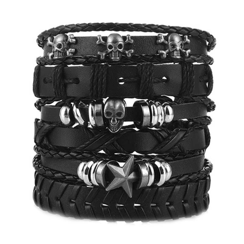 Bracelets Pirates Homme - Bracelet Pirate - Jolly Roger