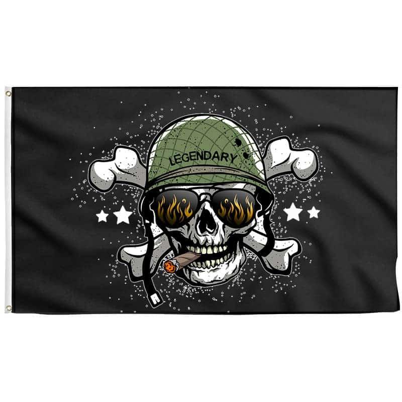 Drapeau de Guerre Pirate - Drapeau Pirate - Jolly Roger