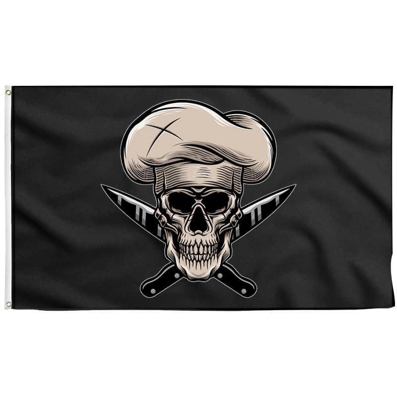 Drapeau Pirate Cuisine - Drapeau Pirate - Jolly Roger