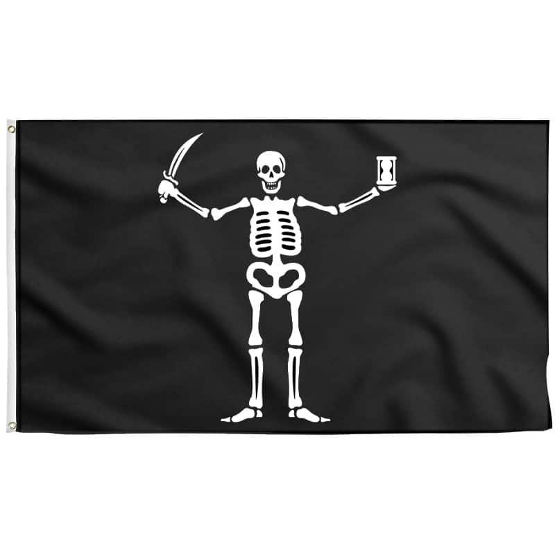 Drapeau Pirate Flint - Drapeau Pirate - Jolly Roger
