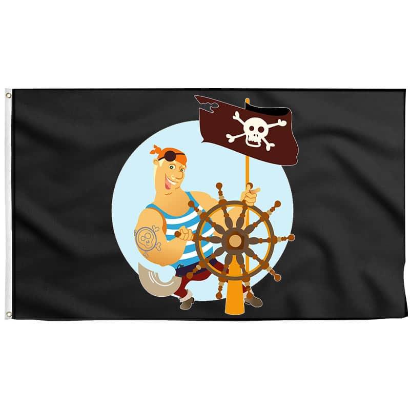 Drapeau de Pirate Gentil - Drapeau Pirate - Jolly Roger