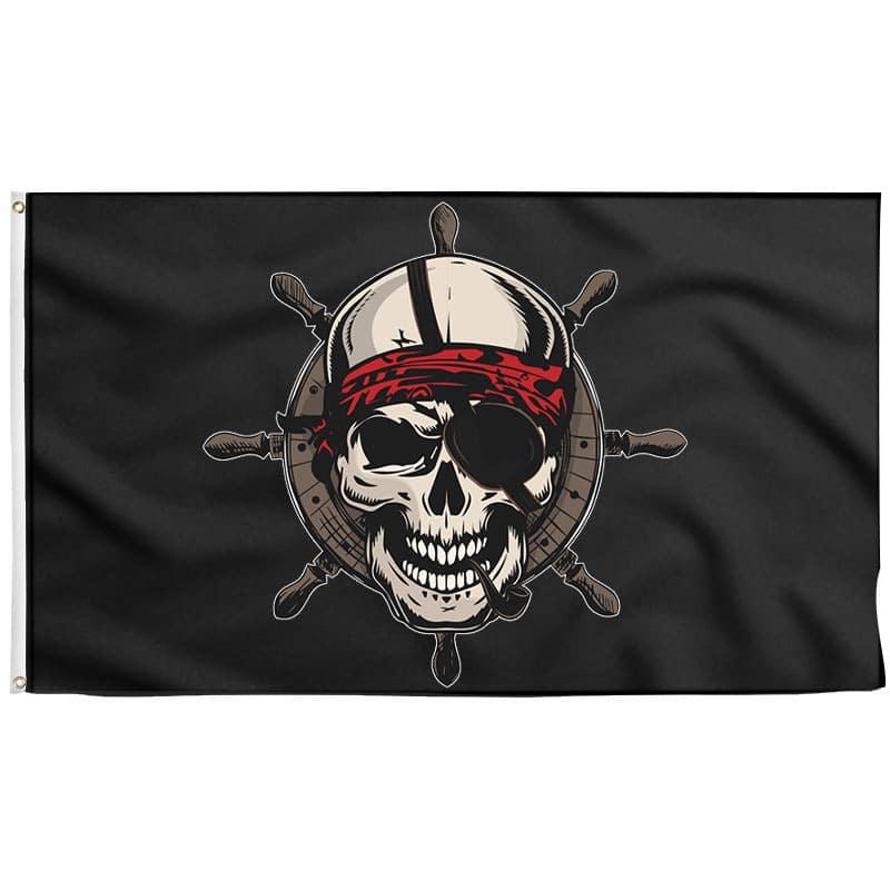 Drapeau Pirate Navigation - Drapeau Pirate - Jolly Roger