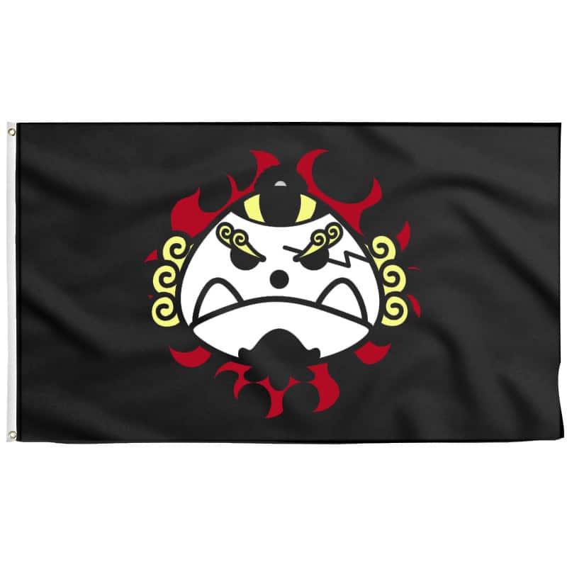 Drapeau de Jinbe Pirate - Drapeau Pirate - Jolly Roger