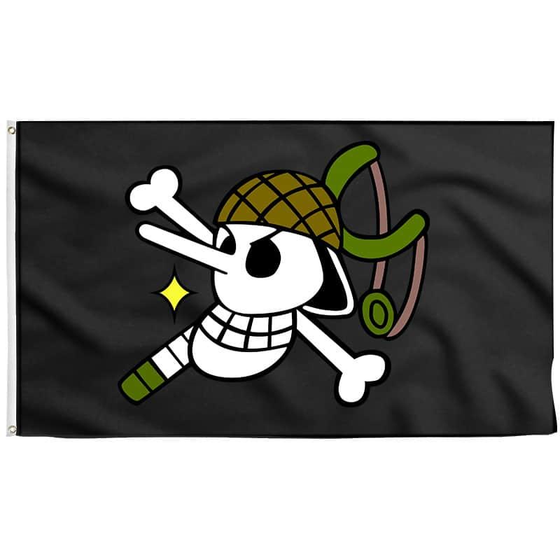 Drapeau Usopp - Drapeau Pirate - Jolly Roger