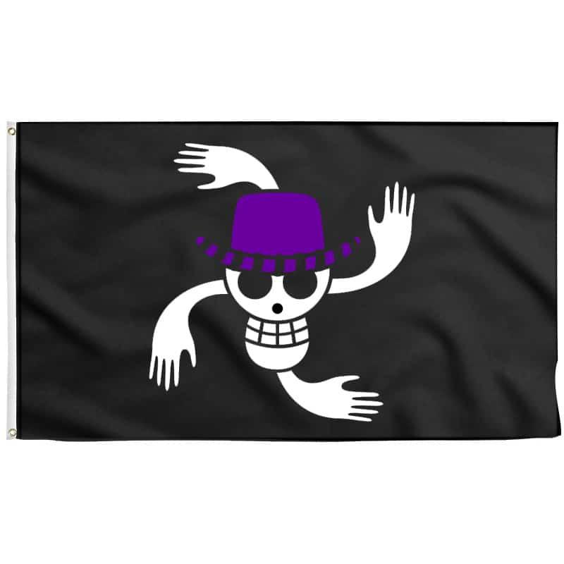 Nico Robin Jolly Roger - Drapeau Pirate - Jolly Roger
