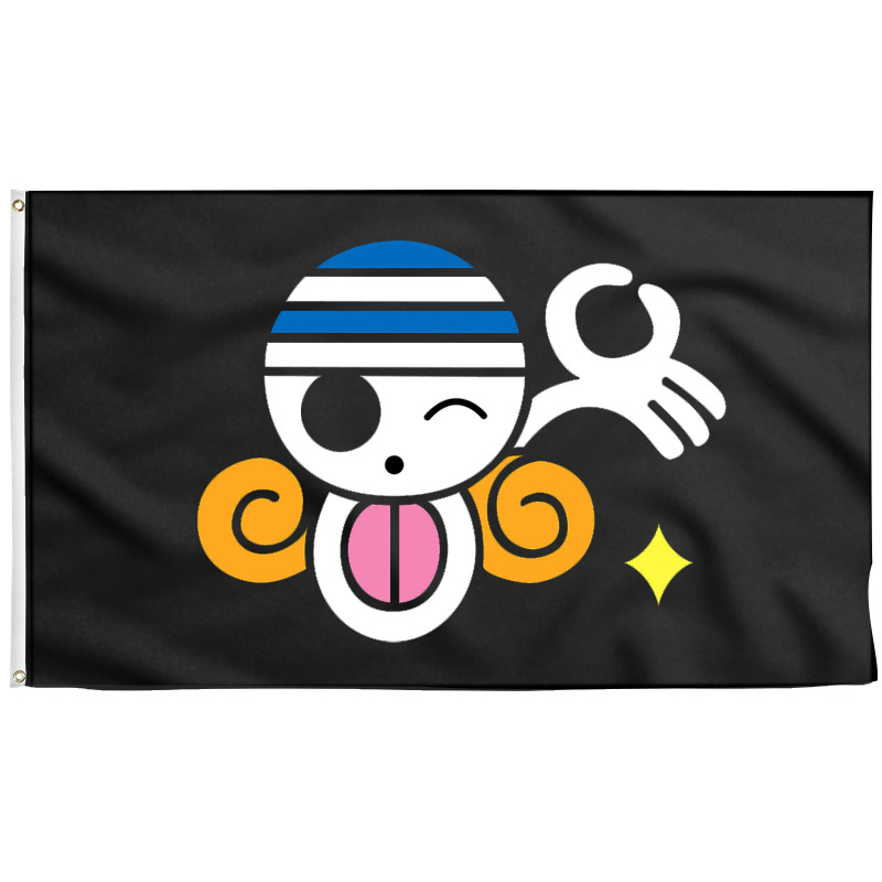 One Piece Nami Jolly Roger - Drapeau Pirate - Jolly Roger
