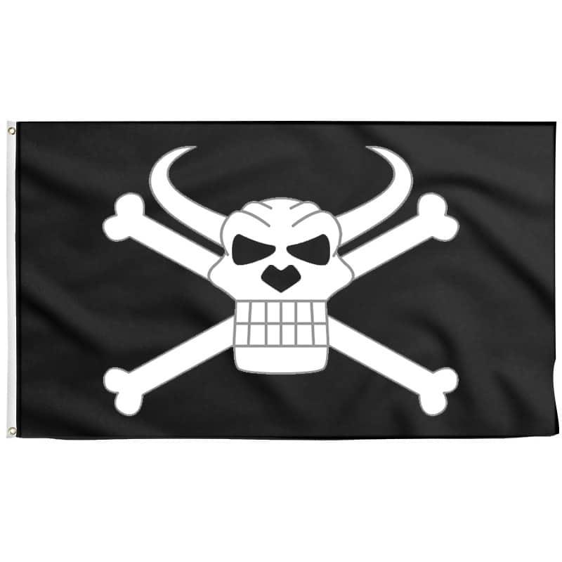 Rumbar Drapeau - Drapeau Pirate - Jolly Roger