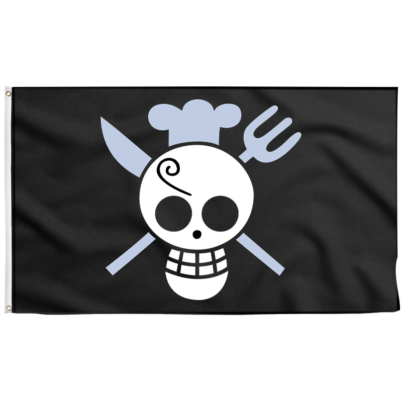Sanji Jolly Roger - Drapeau Pirate - Jolly Roger